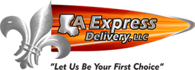 Louisiana Express Delivery Logo